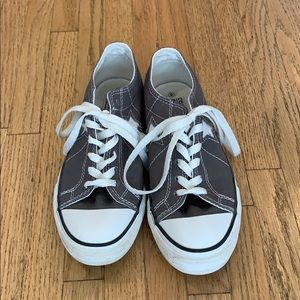 Converse One Star gray canvas size 6